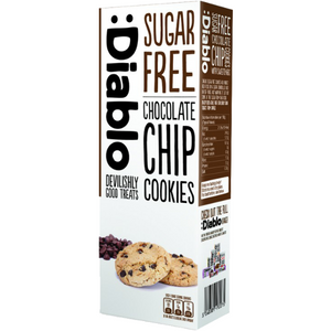 Diablo Sugar Free Chocolate Chip Cookies 135g