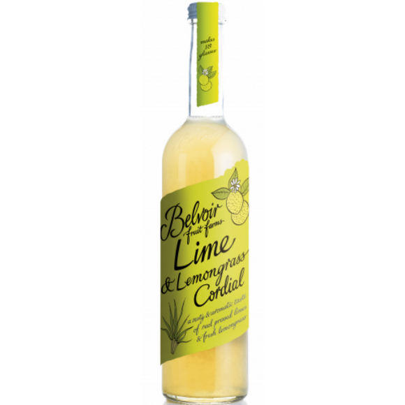 Belvoir Lime & Lemongrass Cordial 50cl