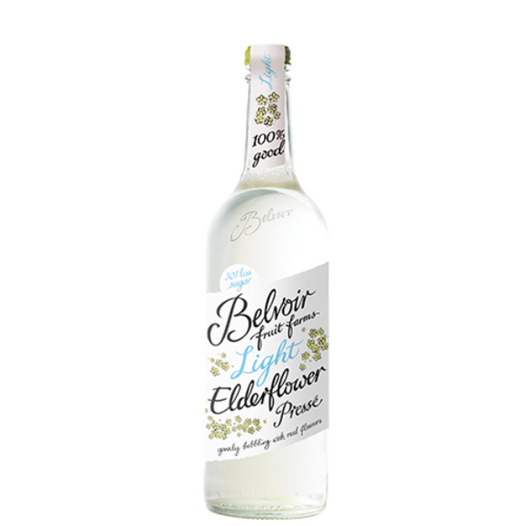 Belvoir Light Elderflower Presse 75cl
