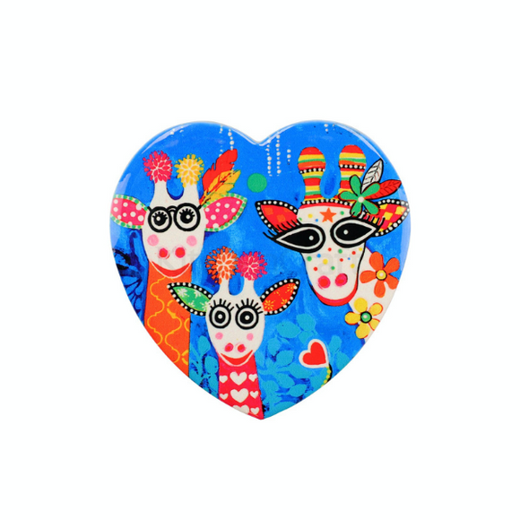 Maxwell Williams Love Hearts Mr Gee Family Ceramic Coaster