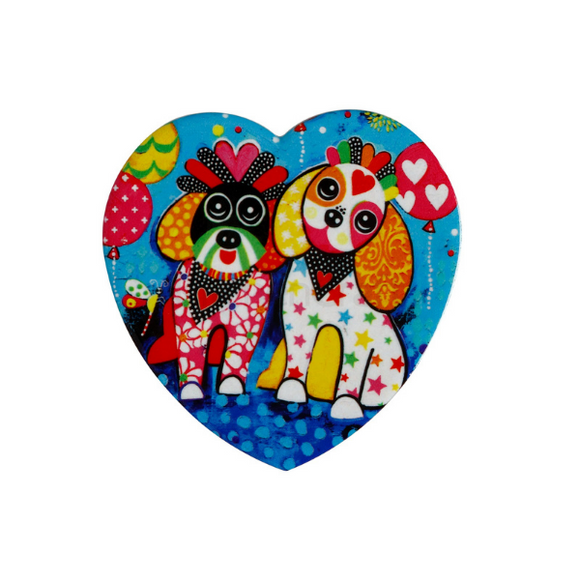 Maxwell Williams Love Hearts Oodles of Love Ceramic Coaster