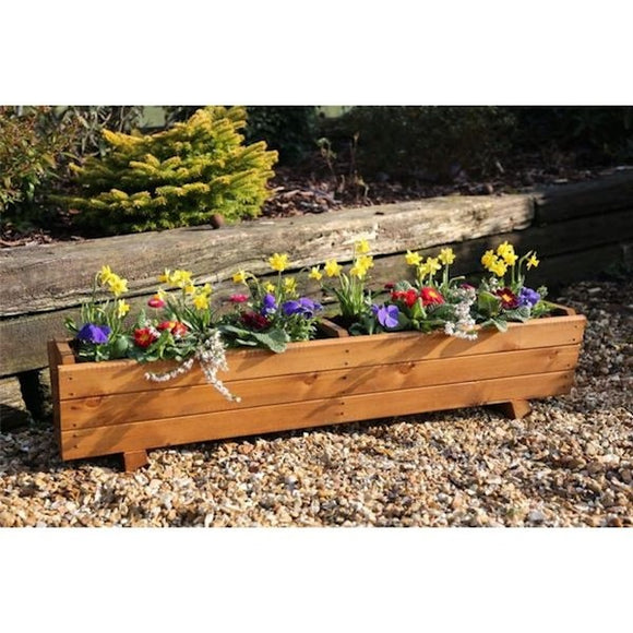 Harlow Wooden Planter