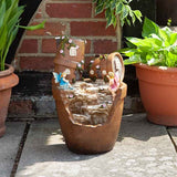 Fairy Pots Solar Water Feature