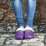 Comfi Fleece Clogs - Lilac