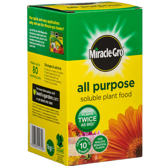 Miracle Gro All purpose soluble feed