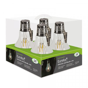 Eureka Retro Lightbulb 4 Pack