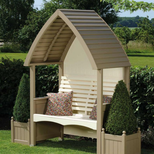 AFK Cottage Arbour Nutmeg