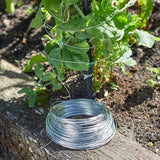 50m Galvanised Garden Wire
