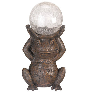 29cm Gazing Frog by Smart Garden