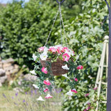 Summer Bloom - Artificial Hanging Basket