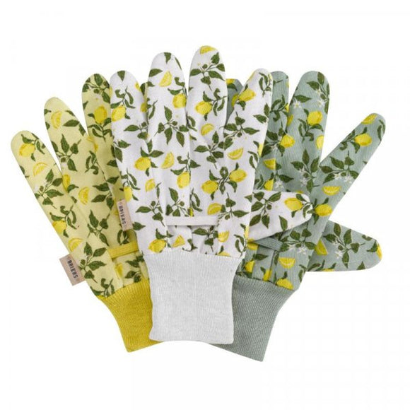 Sicilian Lemon Cotton Grips Triple Pack - Medium