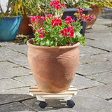 Wooden Pot Caddy