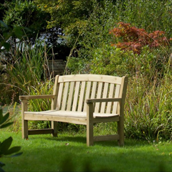 Woodshaw Emsworth 2 Seater Garden Bench