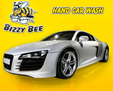 Bizzy Bee Car Wash, have your car washed while you shop on your family day out
