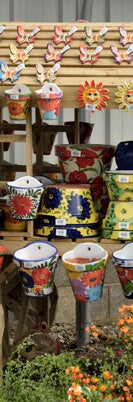 Spanish pots, add some colour to your garden