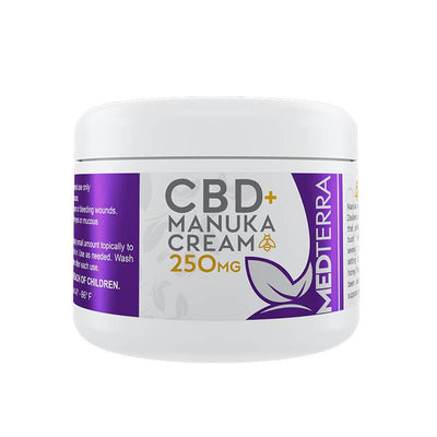 Medterra - CBD Topical - Manuka Cream - 250mg