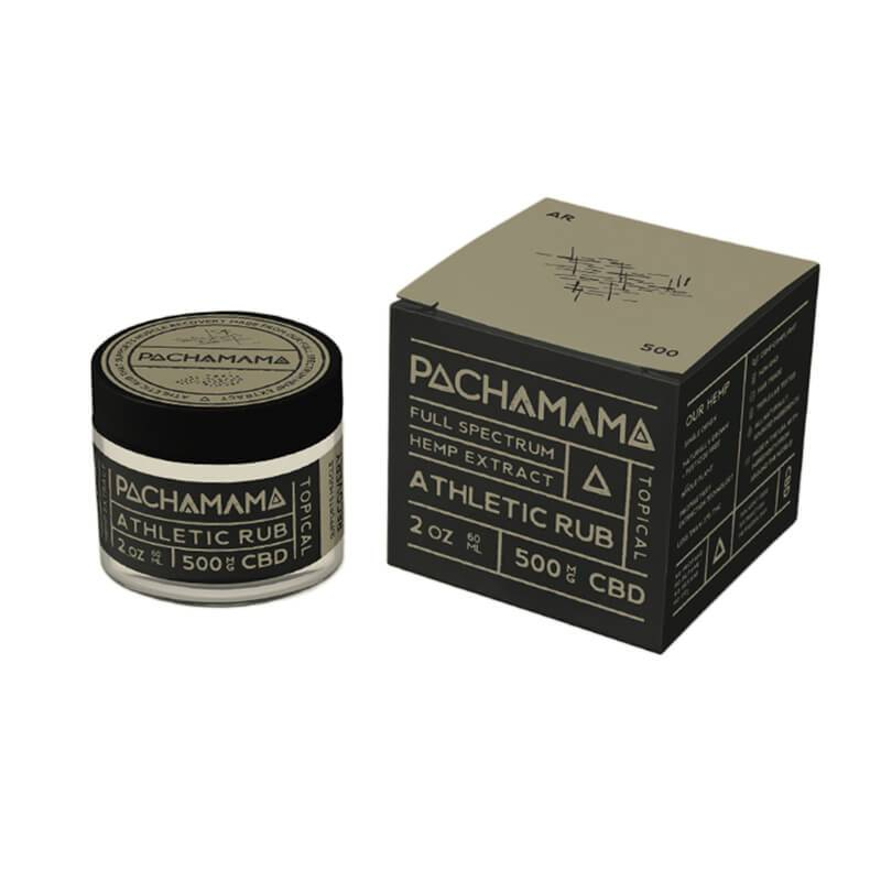 Pachamama - CBD Topical - Athletic Rub - 500mg
