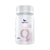 Medterra - CBD Softgel - Woman's Monthly Wellness - 25mg