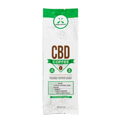 Green Roads - CBD Coffee - 2oz