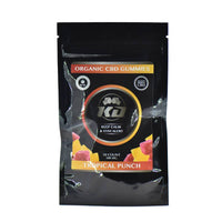 Knockout CBD - CBD Edible - Tropical Gummies - 100mg