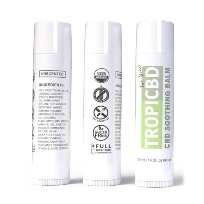 TropiCBD - CBD Pet Topical - Soothing Balm - 10mg