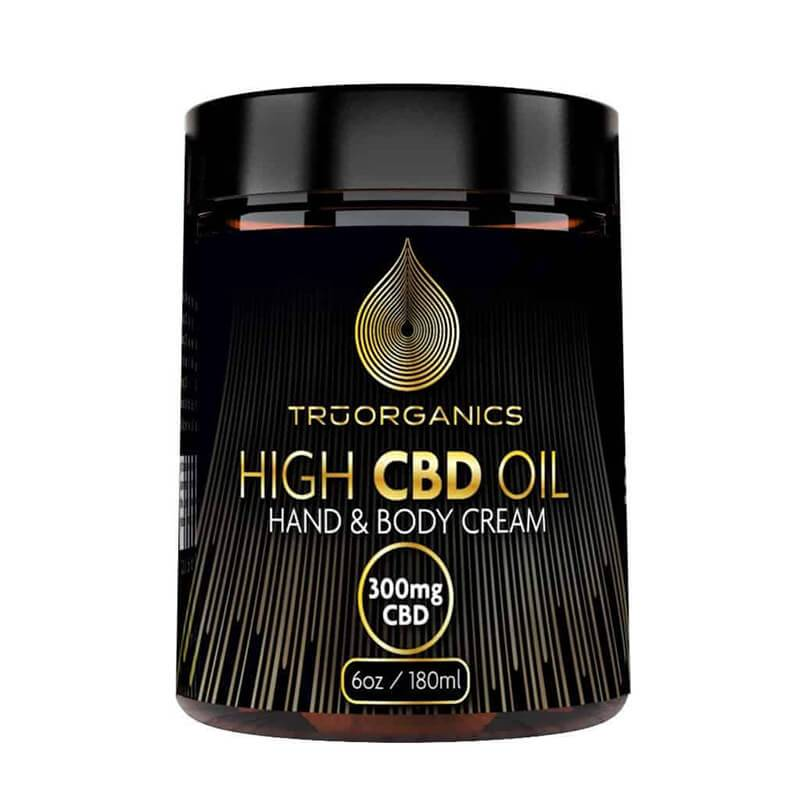 Tru Organics - CBD Topical - Full Spectrum Lemon Grass Cream 6oz - 300mg