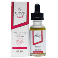 ENVY CBD - CBD Tincture - Strawberry Watermelon - 250mg-1000mg