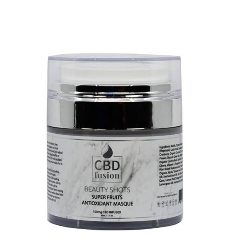 CBD Fusion - CBD Beauty - Superfruits Masque - 100mg