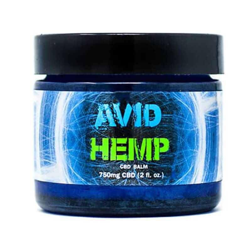 Avid Hemp - CBD Topical - Pain Balm - 750mg-1500mg