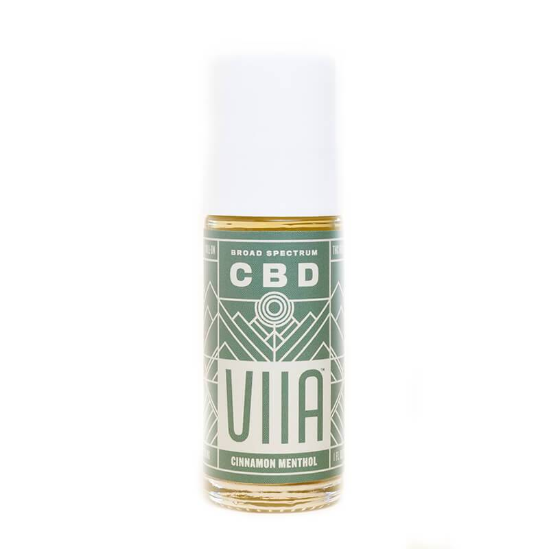 VIIA - CBD Topical - Roll-On Cinnamon Menthol - 250mg