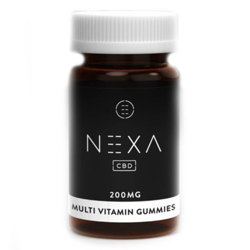 Nexa CBD - CBD Edible - Multiviatmin Gummies - 10mg