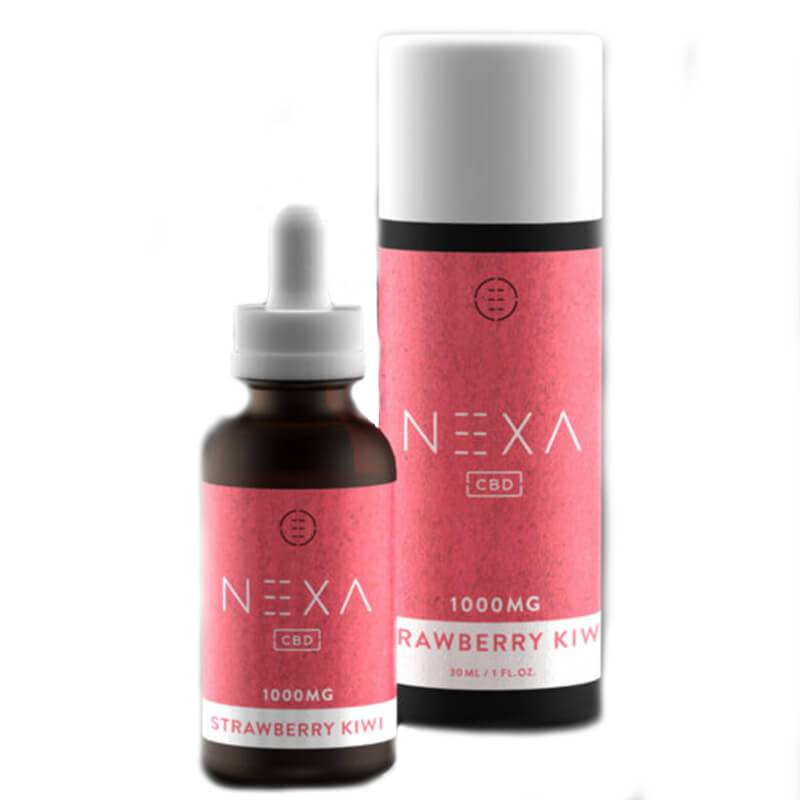 Nexa CBD - CBD Tincture - Strawberry Kiwi - 250mg-1000mg