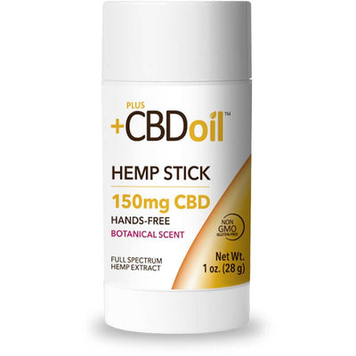 PlusCBD Oil - CBD Topical - Gold Balm Stick - 150mg