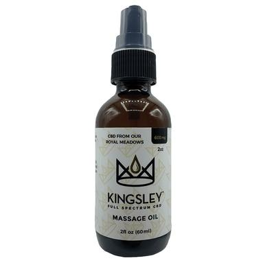 Kingsley - CBD Topical - Full Spectrum Massage Oil - 600mg
