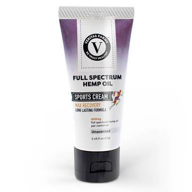 Veritas Farms - CBD Topical - Full Spectrum Sports Cream - 600mg