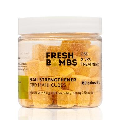Fresh Bombs - CBD Skincare - Nail Strengthener Manicure Bombs - 5mg
