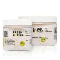 Fresh Bombs - CBD Bath - Soul Rejuvenator Salt Soak - 30mg-100mg