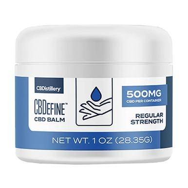 CBDistillery - CBD Topical - CBDefine Full Spectrum Balm - 500mg