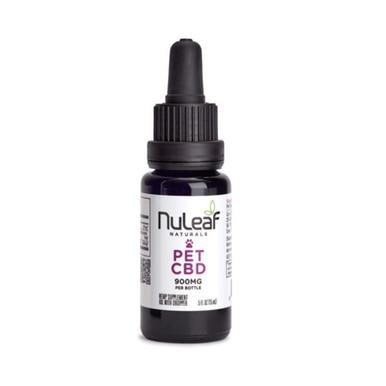 NuLeaf Naturals - CBD Pet Tincture - Full Spectrum Extract - 300mg-1800mg