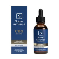 Social - CBG Tincture - Unflavored - 1500mg