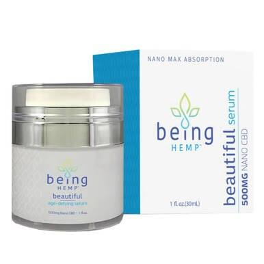 being HEMP - CBD Topical - Age-Defying Serum - 500mg