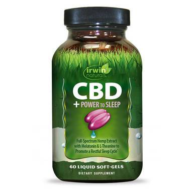Irwin Naturals - CBD Capsules - CBD + Power to Sleep - 30mg