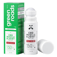 Green Roads - CBD Topical - Heat Relief Muscle & Joint Roll-On 150mg-750mg