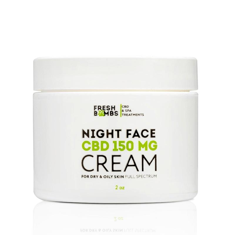 Fresh Bombs - CBD Topical - Night Face Cream - 150mg