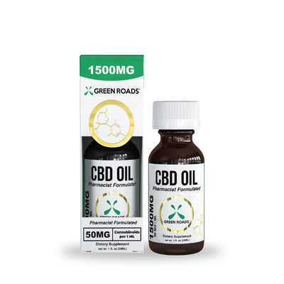Green Roads - CBD Oil Tincture (Sublingual) 1500mg - 30 ml <0.0mg THC