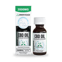 Green Roads - CBD Oil Tincture (Sublingual) 3500mg - 60 ml <0.0mg THC