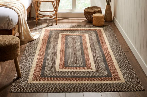 IHF Rectangle Braided Rugs