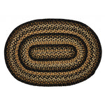 Black Forest Oval Rug
