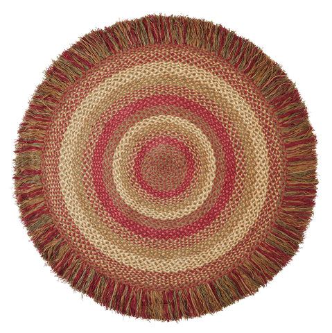 Blackberry Oval Rug