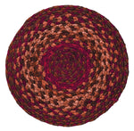 "Cinnamon Braided Rugs 20"" x 30"" to 8'x10' Oval Natural Jute Material